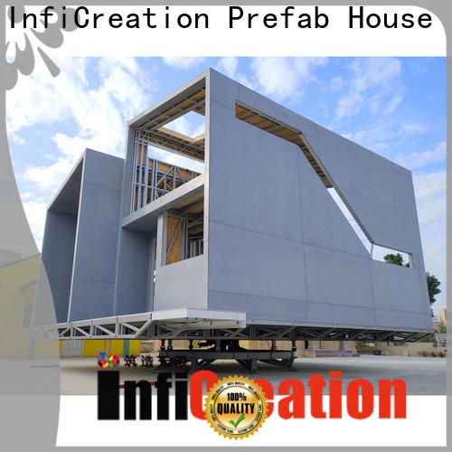 InfiCreation pre manufactured houses designer for accommodation