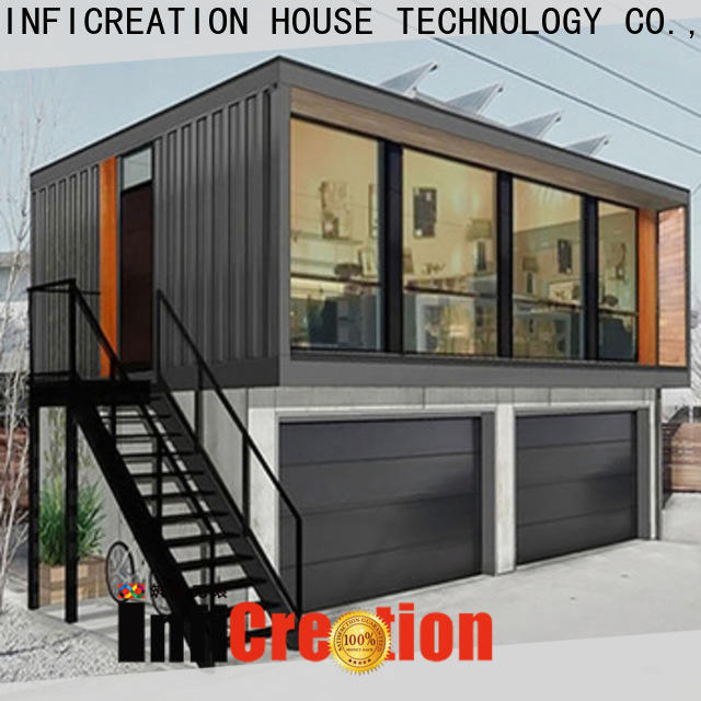 InfiCreation durable cargo container house supplier for toilet