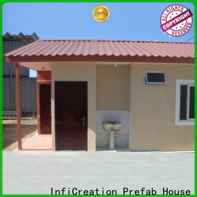InfiCreation recyclable cargo container homes supplier for toilet