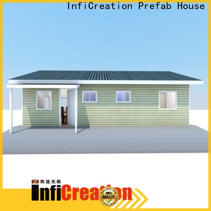 InfiCreation prefabricated villa factory price for entertainment centers