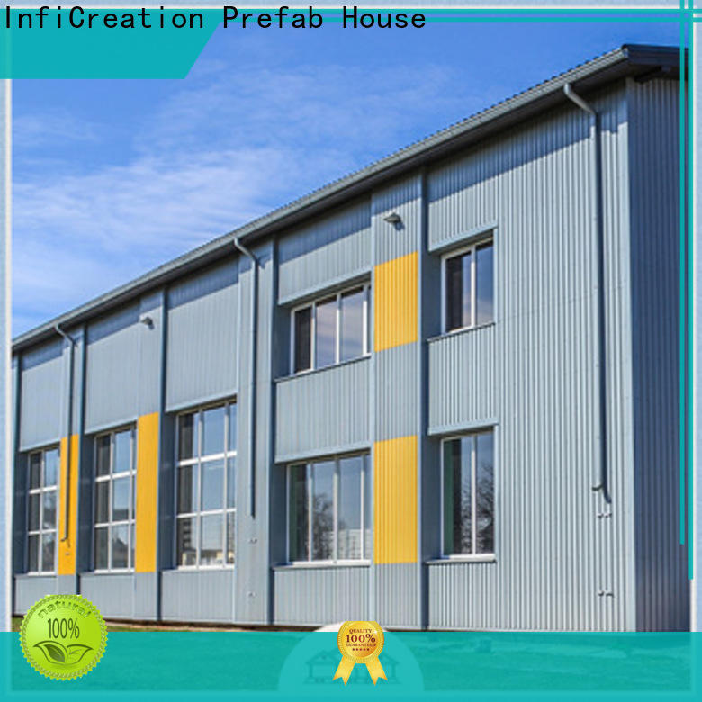 InfiCreation prefab steel warehouse factory price for storage