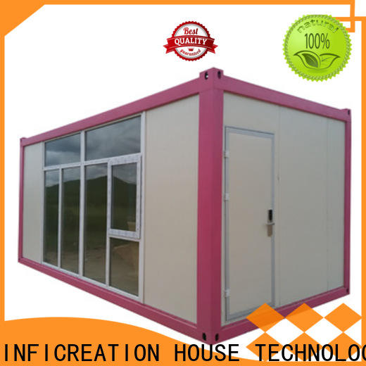 InfiCreation prefab container house factory for toilet