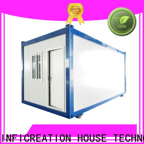 InfiCreation custom container homes factory for carport