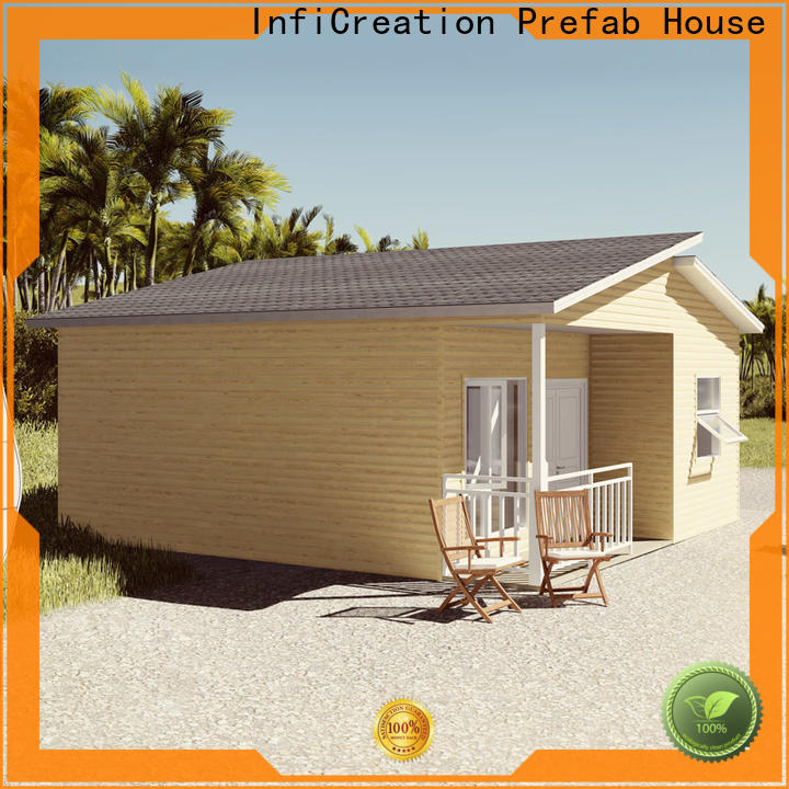 InfiCreation pre built homes factory price for hotel