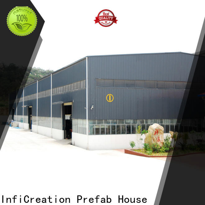 InfiCreation fast assembly prefabricated warehouse manufacturer for factory