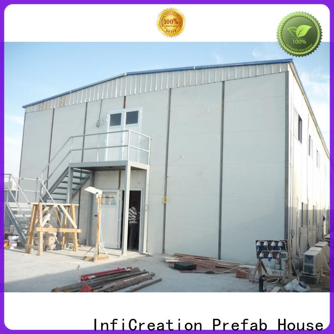 InfiCreation latest pre manufactured homes manufacturers for toilet