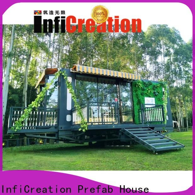 durable pre built container homes factory price for booth