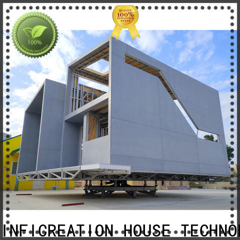 InfiCreation prefab manufactured homes factory price for hotel