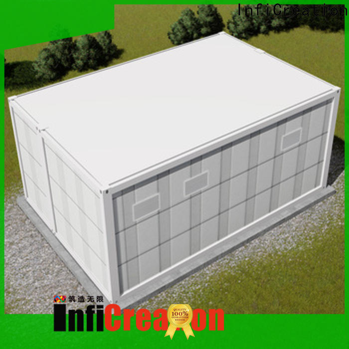 InfiCreation durable storage container houses customized for accommodation
