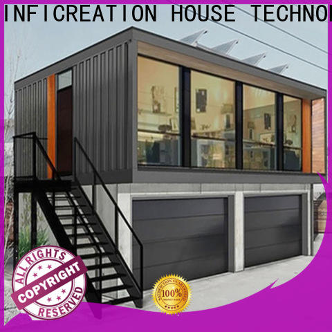 steel prefabricated container homes supplier for office