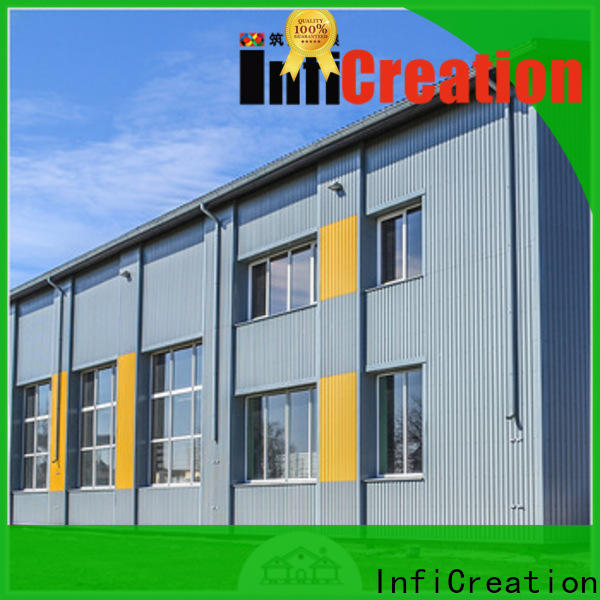 windproof prefabricated warehouse buildings customized for factory
