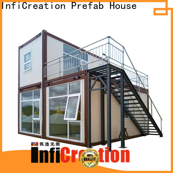 recyclable prefab container house directly sale for toilet