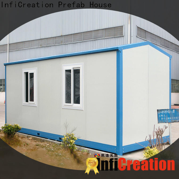 InfiCreation cargo container house supplier for booth