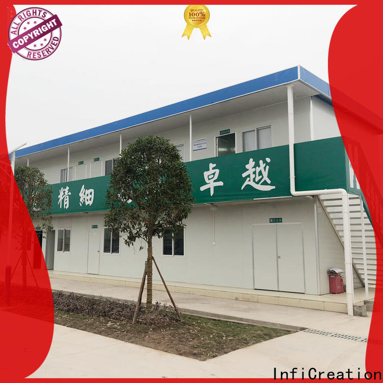 InfiCreation pre built container homes supplier for accommodation