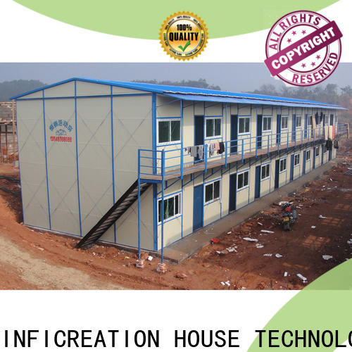 InfiCreation fast assembly temporary site accommodation wholesale for accommodation