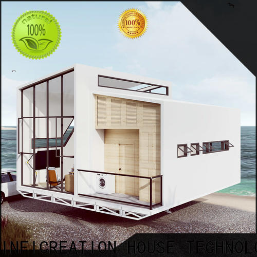 InfiCreation steel prefabricated cottages custom for resorts