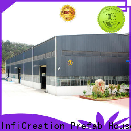 InfiCreation modern pre built warehouse factory price for company