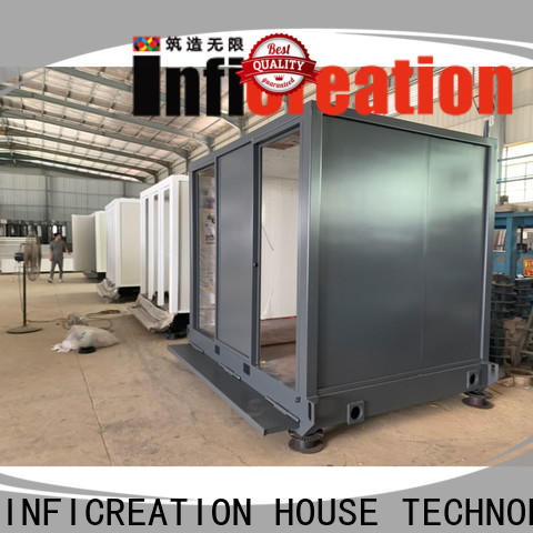 InfiCreation steel freight container homes factory price for office