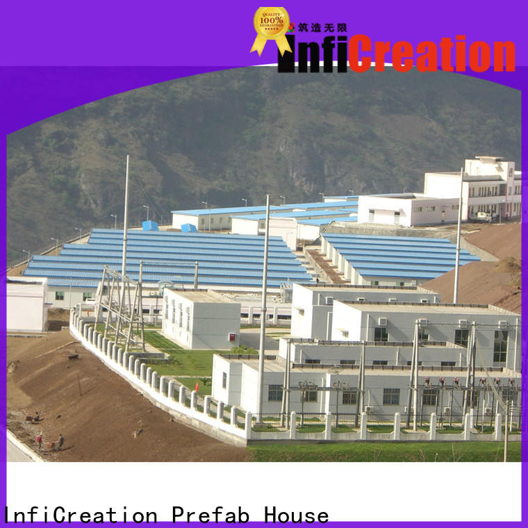 InfiCreation custom pre manufactured homes company for office