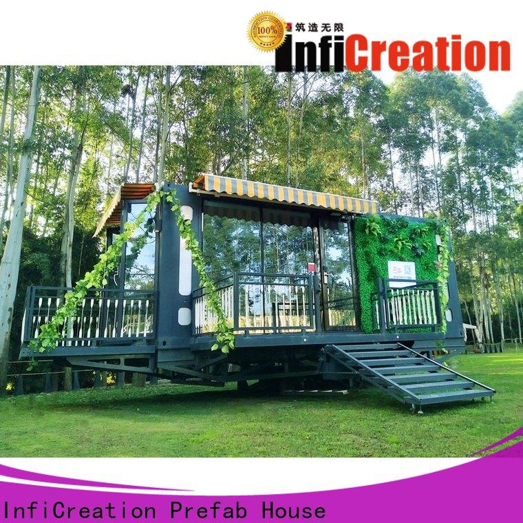 InfiCreation prefab container homes directly sale for toilet