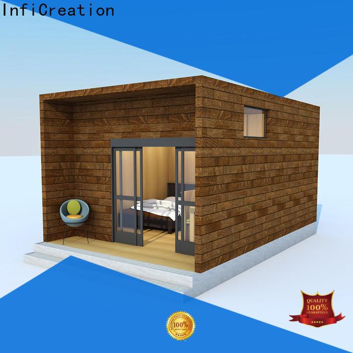 economical modular cottages manufacturer for accommodation