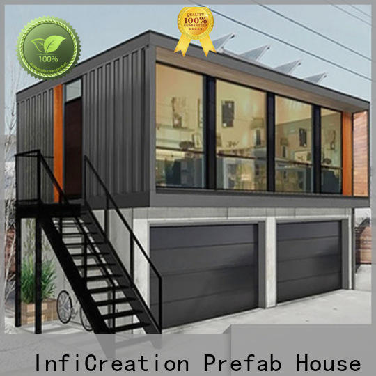 InfiCreation recyclable storage container houses directly sale for office