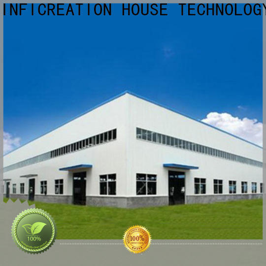 InfiCreation prefab warehouse customized for factory