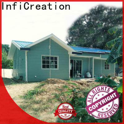 InfiCreation modular cottages factory price for accommodation