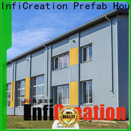 InfiCreation environmental friendly prefab warehouse customized for company