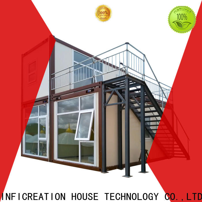 InfiCreation custom container homes factory for booth