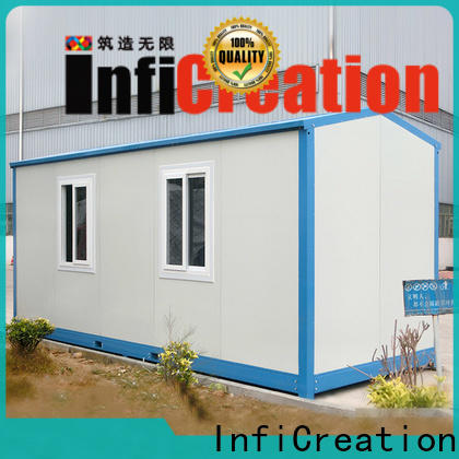 InfiCreation durable prefab storage container homes factory price for office