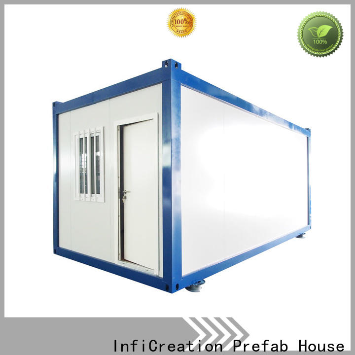 InfiCreation prefabricated container homes supplier for booth