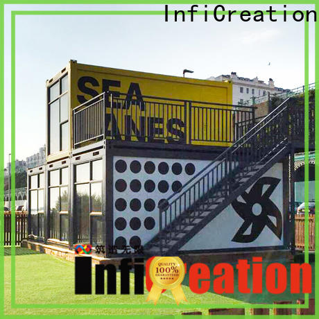 InfiCreation long lasting modular container homes manufacturer for toilet