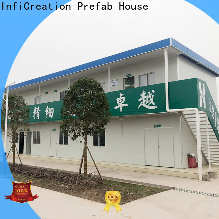 InfiCreation durable prefab container homes supplier for booth