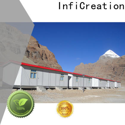 InfiCreation movable site accommodation custom for shop