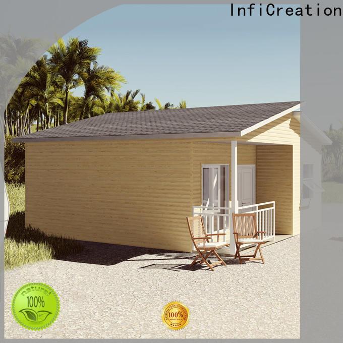 InfiCreation steel prefabricated luxury villas designer for resorts
