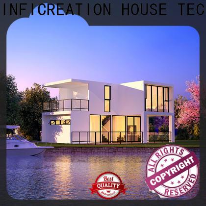 steel prefabricated villa custom for resorts