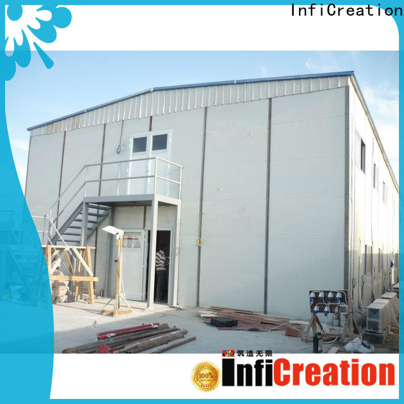 InfiCreation pre manufactured homes factory for accommodation