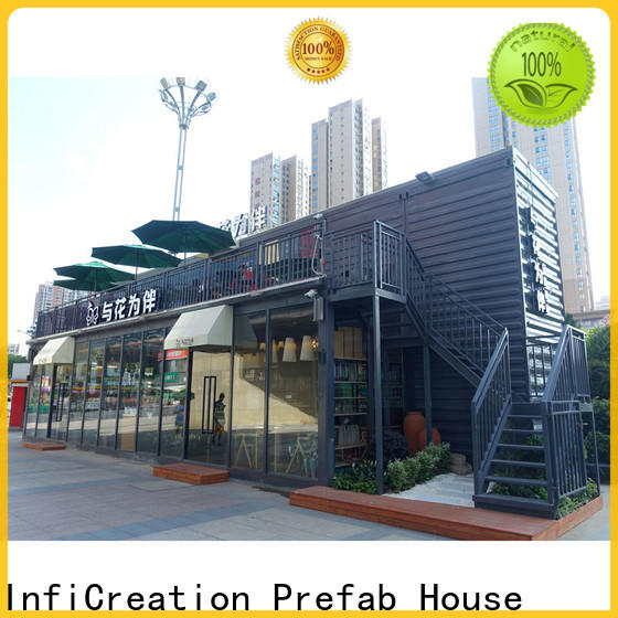InfiCreation high-quality pre manufactured homes supply for office