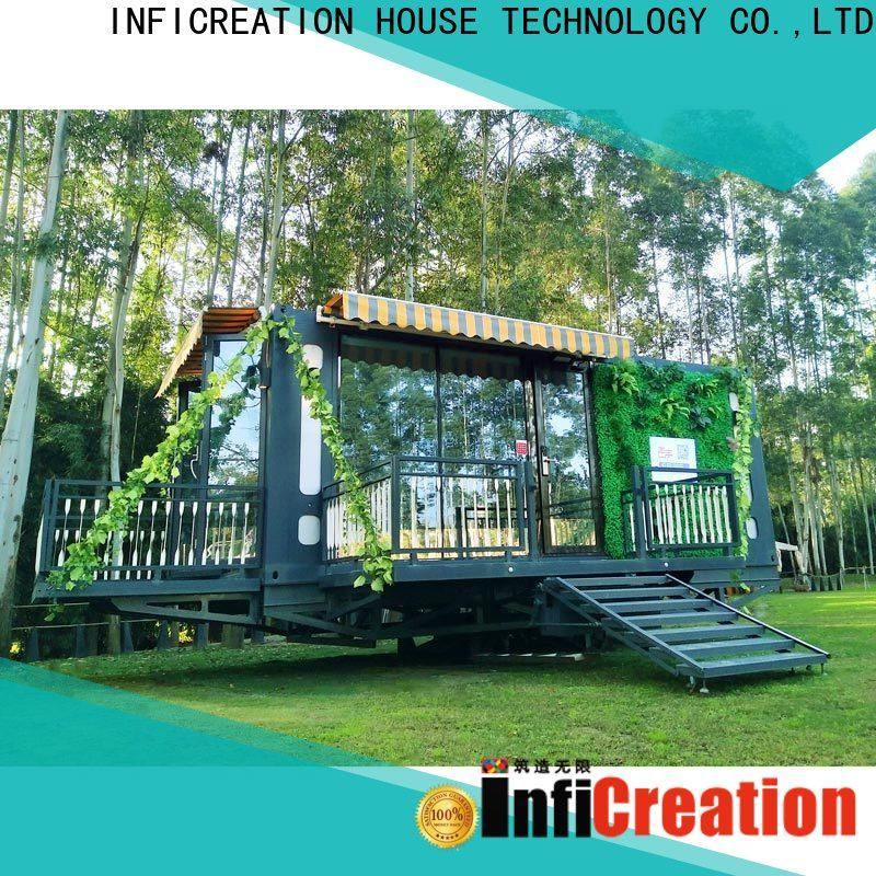 InfiCreation modern storage container houses factory for booth
