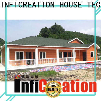 InfiCreation pre manufactured homes manufacturers for accommodation
