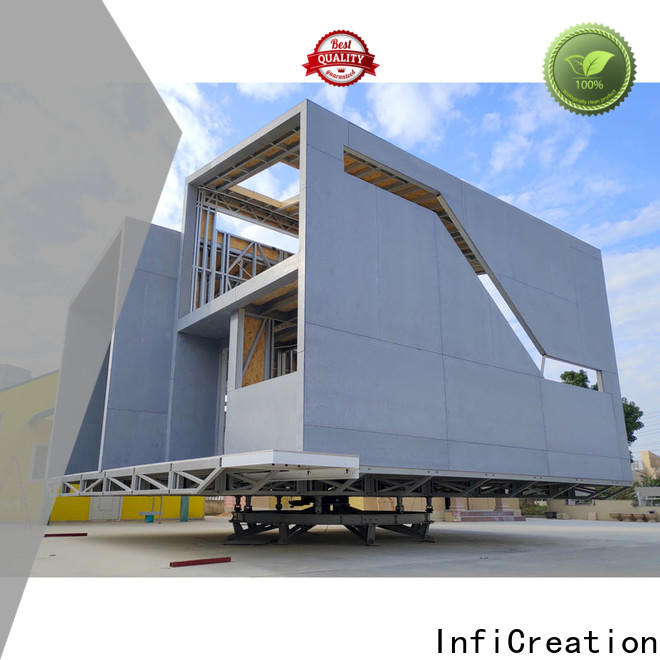 InfiCreation pre fabricated cottages designer for accommodation