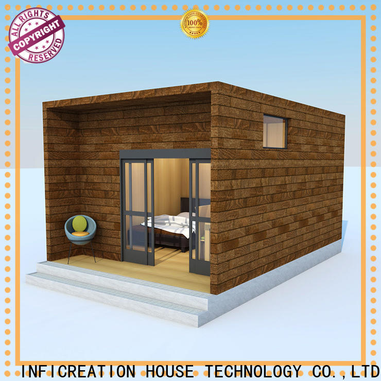 InfiCreation luxury prefabricated homes designer for accommodation