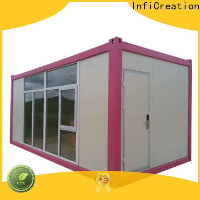 InfiCreation low cost prefab container homes factory for accommodation