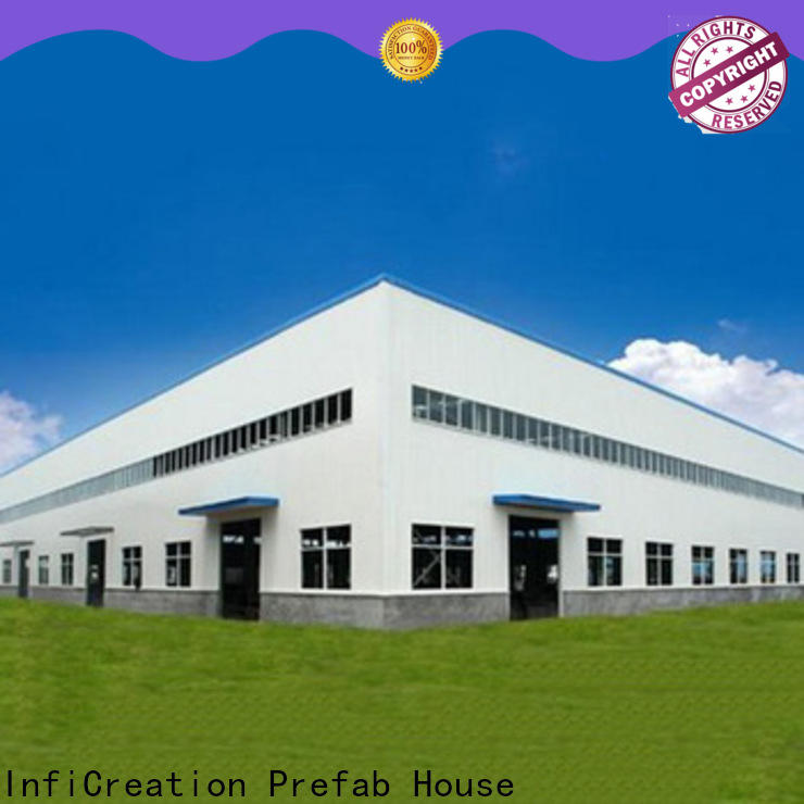 InfiCreation modern pre manufactured warehouse directly sale for storage