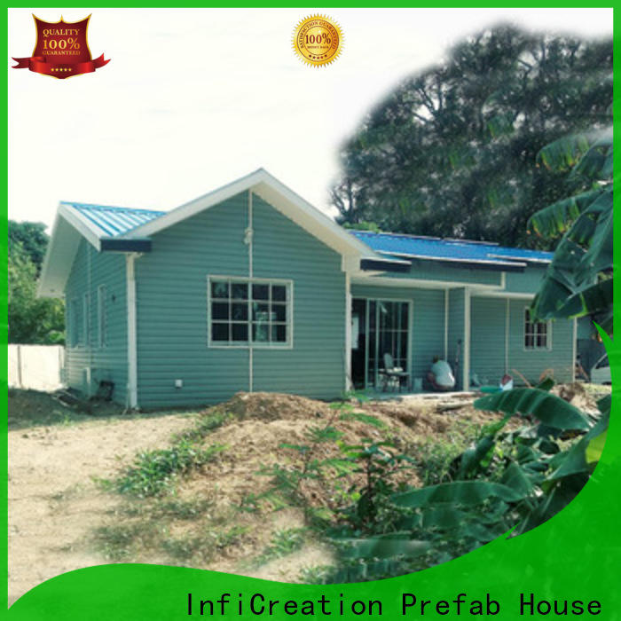 InfiCreation pre built homes manufacturer for resorts