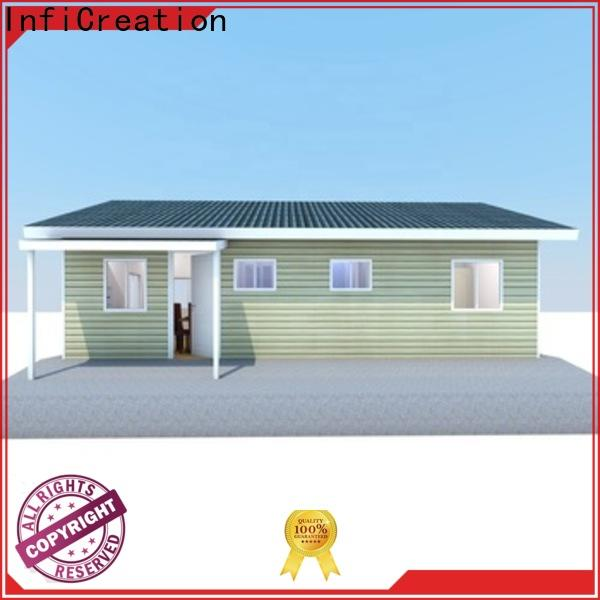 InfiCreation comfortable prefabricated cottages custom for entertainment centers