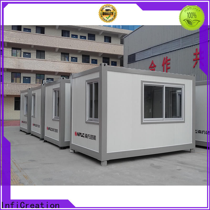 InfiCreation modern prefabricated container homes factory for carport