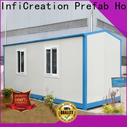 InfiCreation prefab container house directly sale for toilet