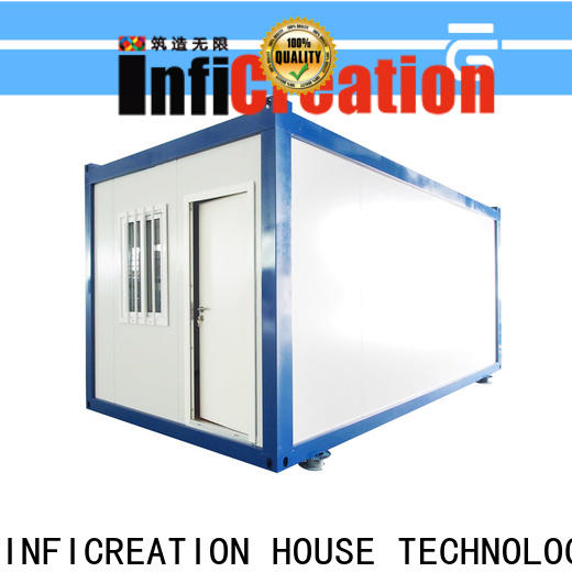 InfiCreation recyclable prefab container homes directly sale for toilet
